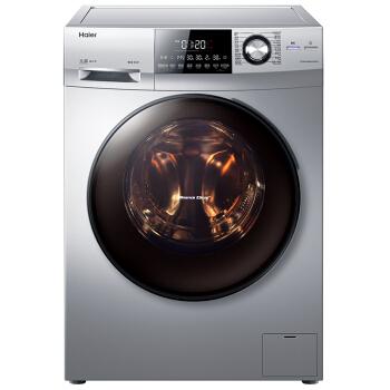 海尔(Haier)EG9014HBDX59SU1 9公斤洗烘一体斐雪派克直驱变频滚筒洗衣机 智能APP控制