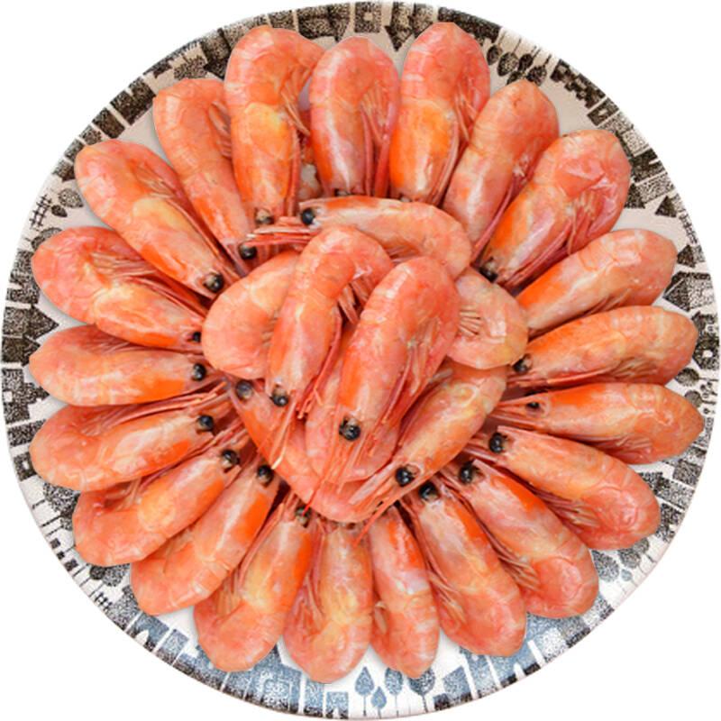 禧美(Seamix) 熟冻加拿大北极虾 带籽率70%-80% 500g 45-60只 袋装 火锅食材 海鲜水产