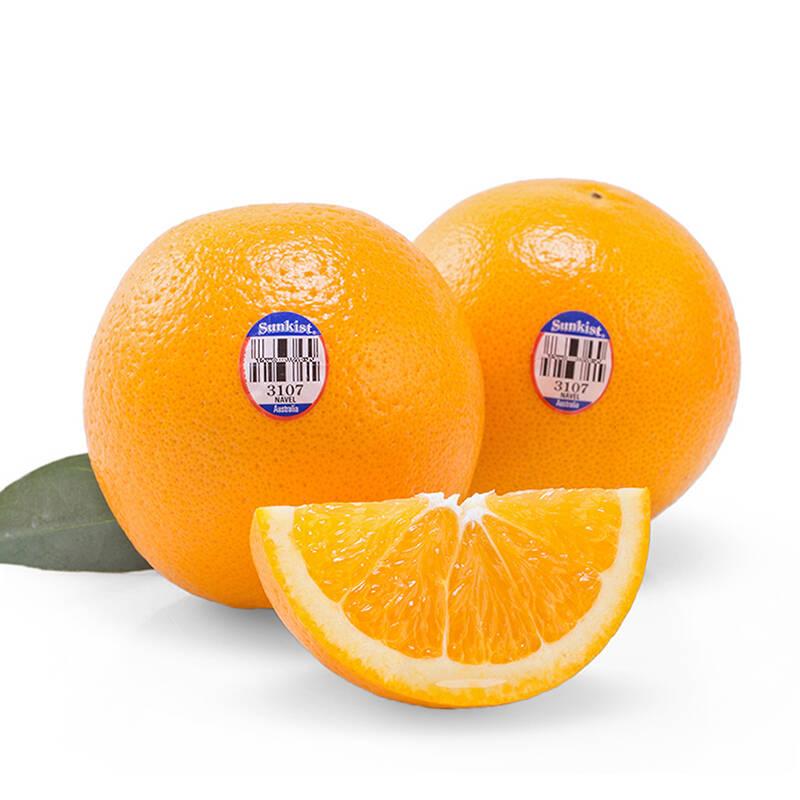 新奇士 澳大利亚进口脐橙 12个装 单果重约165-220g 新鲜水果